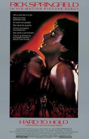Hard to Hold (film) - Image: Hard to Hold Film Poster