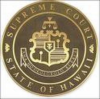 Supreme Court of Hawaii - Seal of the Hawaii Supreme Court