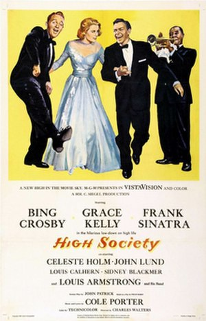 High Society (1956 film) - Theatrical release poster