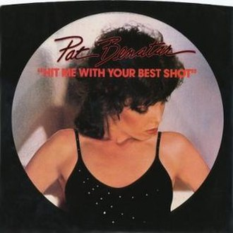 Hit Me with Your Best Shot - Image: Hit Me with Your Best Shot by Pat Benatar US vinyl