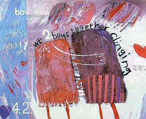 1961 in art - Image: Hockney, We Two Boys Together Clinging