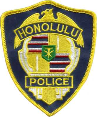 Honolulu Police Department - Image: Honolulu police dept. patch