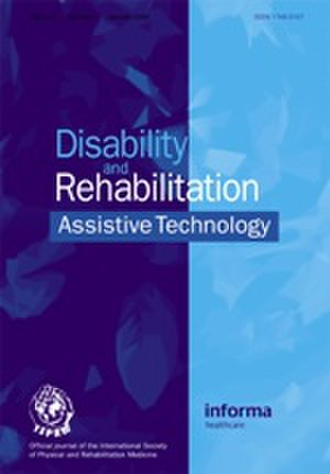 Disability and Rehabilitation: Assistive Technology - Image: Idt front cover