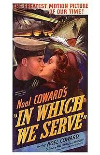 <i>In Which We Serve</i> 1942 film by David Lean, Noël Coward
