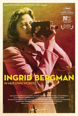 Ingrid Bergman: In Her Own Words - Film poster