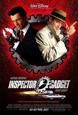 Inspector Gadget (film) - Theatrical release poster