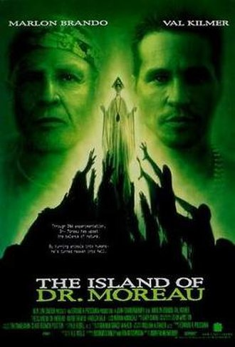 The Island of Dr. Moreau (1996 film) - Theatrical release poster