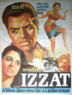 Izzat (1968 film) - Poster