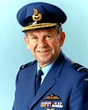 James Rowland (RAAF officer) - Official RAAF portrait of Air Marshal Rowland
