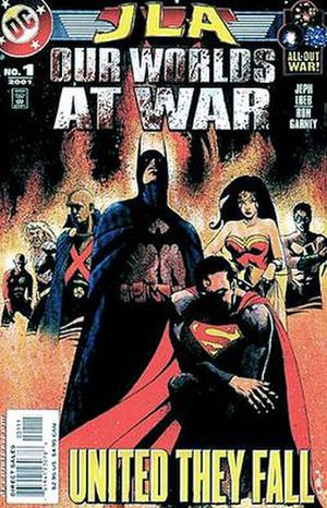Our Worlds at War - Image: JL Aourworlds 1