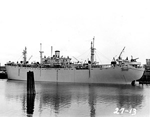 Emergency Shipbuilding program - Liberty ship Joseph M. Terrel at Brunswick, GA c. 1944