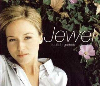 Foolish Games 1997 single by Jewel