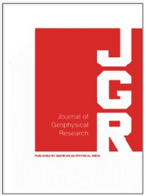 Journal of Geophysical Research - Image: Jgrbcover