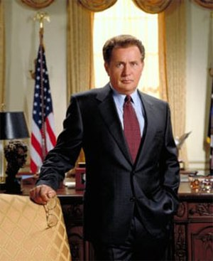 Josiah Bartlet - Image: Josiah Bartlett with chair