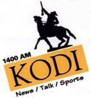 KODI - Image: KODI (AM) Logo