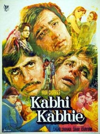 Kabhie Kabhie (1976 film) - Film poster