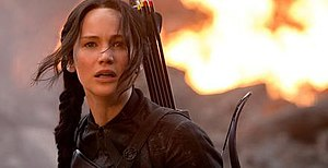 Katniss Everdeen - Katniss Everdeen, as portrayed by Jennifer Lawrence in the film The Hunger Games: Mockingjay – Part 1