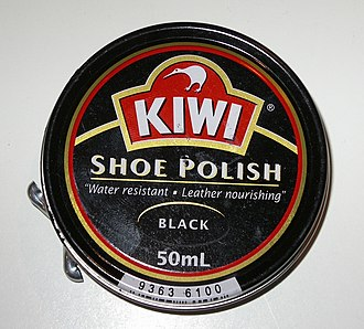 Kiwi (people) - A can of Kiwi shoe polish