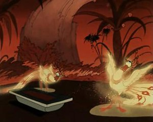 History of Russian animation - The dance of the firebirds from The Humpbacked Horse (1947)