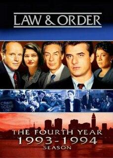 <i>Law & Order</i> (season 4) Season of television series