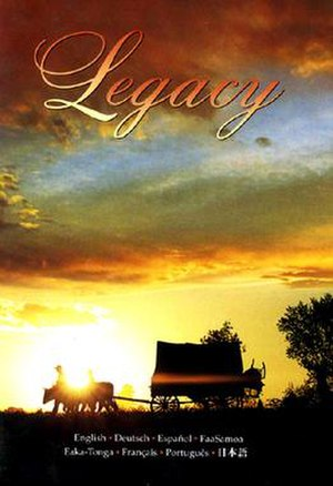 Legacy: A Mormon Journey - DVD Cover
