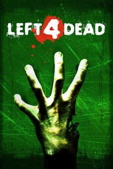 <i>Left 4 Dead</i> cooperative first-person shooter arcade-style video game by Valve Corporation