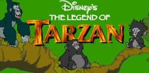 The Legend of Tarzan (TV series) - Show logo