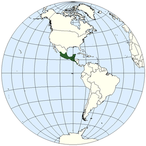 Geography of Mesoamerica - Location of Mesoamerica in the Americas: this prototypic culture area is situated on the Middle American isthmus, or land bridge, adjoining southern North America with South America.