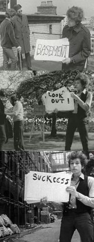 "Subterranean Homesick Blues - The three locations for the ""cue card"" clip as seen in Dont Look Back"