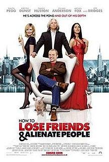 <i>How to Lose Friends & Alienate People</i> (film) 2008 British film