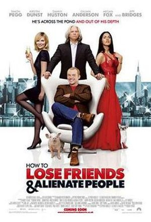 How to Lose Friends & Alienate People (film) - Theatrical release poster