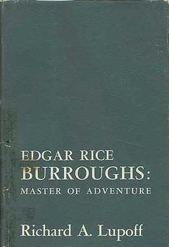 Master of Adventure: The Worlds of Edgar Rice Burroughs - Cover of the first edition, titled Edgar Rice Burroughs: Master of Adventure