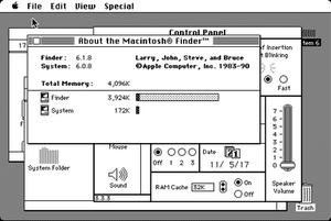 System 6 - Image: Macintosh system 6.0.8