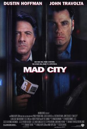 Mad City (film) - Theatrical release poster