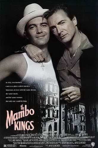The Mambo Kings - Theatrical release poster