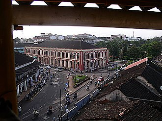 Margao - Camara Municipal de Salcete, Margao City Square