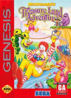 <i>McDonalds Treasure Land Adventure</i> 1993 platform video game