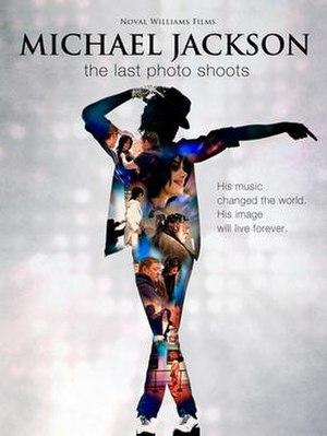 Michael Jackson: The Last Photo Shoot - Film poster