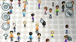 Mii - The Mii Channel, the first application used to create and view Mii characters on the Wii.