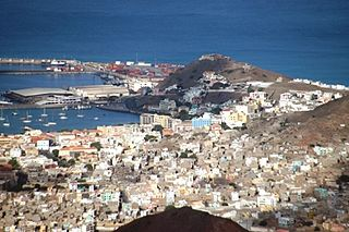Settlement in São Vicente, Cape Verde