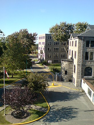 Vanier College - A view of the campus