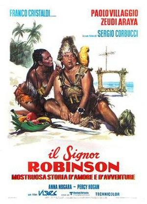 Mr. Robinson (film) - Italian theatrical release poster