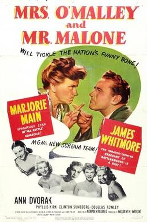 Mrs. O'Malley and Mr. Malone - Image: Mrs. O'Malley and Mr. Malone Film Poster