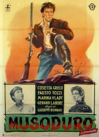 Musoduro - Image: Musoduro poster