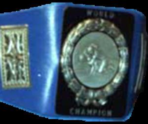 NWA World Tag Team Championship (Central States version) - The Central States championship belt