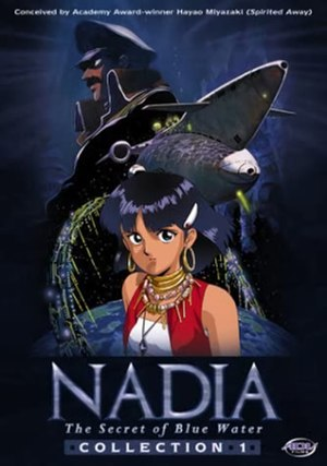 Nadia: The Secret of Blue Water - North American DVD Collection 1 cover