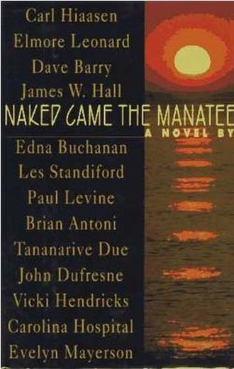 Naked Came the Manatee - First edition cover.