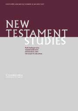 New Testament Studies - Image: New Testament Studies