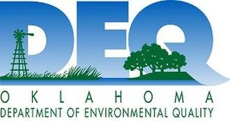 Oklahoma Secretary of the Environment - Image: OK Department of Environmental Quality logo