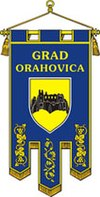 Flag of Orahovica